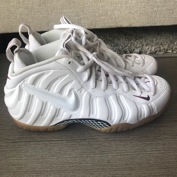 outlet store ff3c4 d1e33 Air Foamposite Pro White Gucci